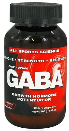 DROPPED: AST Sports Science - GABA - 100 Grams CLEARANCE PRICED