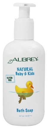 Aubrey Organics - Natural Baby & Kids Bath Soap - 8 oz.