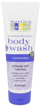 DROPPED: Aura Cacia - Aromatherapy Body Wash Lavender - 8 oz.