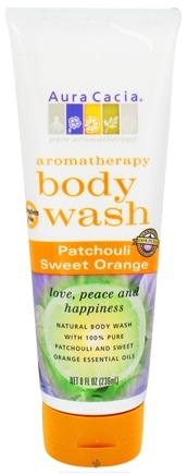 DROPPED: Aura Cacia - Aromatherapy Body Wash Patchouli & Sweet Orange - 8 oz.