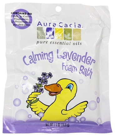 Aura Cacia - Foam Bath for Kids Calming - 2.5 oz.
