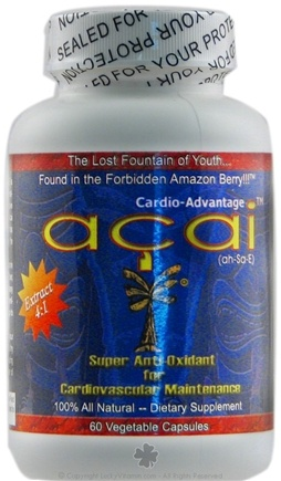 DROPPED: Life Dynamics - Acai - 60 Capsules CLEARANCE PRICED