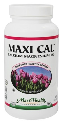 Maxi-Health Research Kosher Vitamins - Maxi Cal Calcium Magnesium Complex With Vitamin D3 - 180 Capsules