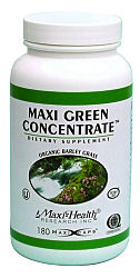 DROPPED: Maxi-Health Research Kosher Vitamins - Maxi Green Concentrate - 180 Capsules