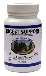 DROPPED: Maxi-Health Research Kosher Vitamins - Digest Support Digestive Enzyme Complex - 90 Tablets