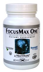 DROPPED: Maxi-Health Research Kosher Vitamins - FocusMax One - 60 Capsules