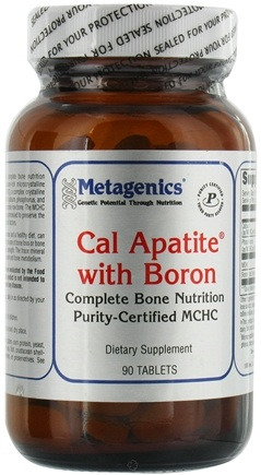 DROPPED: Metagenics - Cal Apatite with Boron - 90 Tablets CLEARANCE PRICED