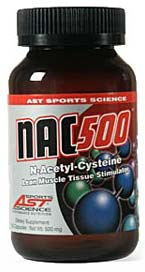 DROPPED: AST Sports Science - NAC 500 (N-Acetyl-Cysteine) - 100 Capsules