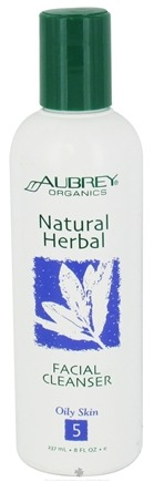 DROPPED: Aubrey Organics - Natural Herbal Facial Cleanser - 8 oz.