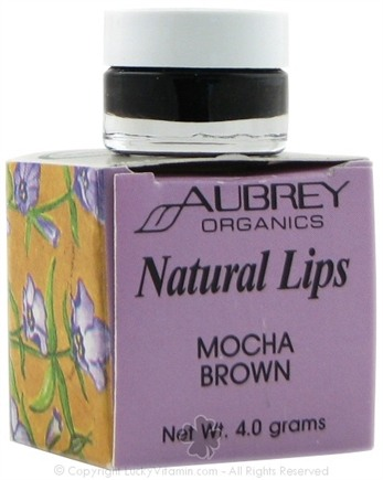 DROPPED: Aubrey Organics - Natural Lips Mocha Brown
