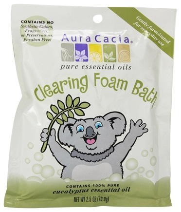 DROPPED: Aura Cacia - Foam Bath for Kids Clearing - 2.5 oz.