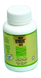 DROPPED: Maxi-Health Research Kosher Vitamins - Maxi Kyolic 400 - 90 Tablets