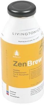 DROPPED: Livingtonics - Zen Brew Mind Tonic - 10 oz.