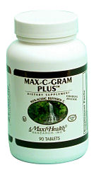 DROPPED: Maxi-Health Research Kosher Vitamins - Kosher Max C Gram - 180 Tablets