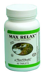 DROPPED: Maxi-Health Research Kosher Vitamins - Kosher Max Relax - 120 Tablets