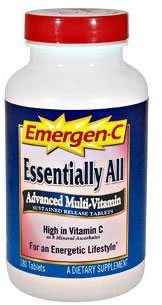 DROPPED: Alacer - Emergen-C Essentially All - 90 Tablets