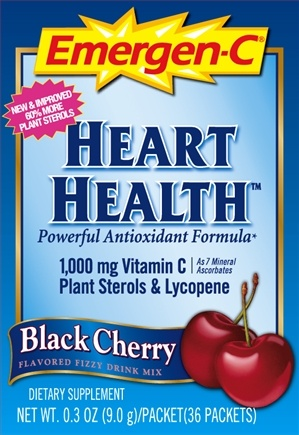 DROPPED: Alacer - Emergen-C Heart Health Vitamin C Black Cherry 1000 mg. - 36 Packet(s)