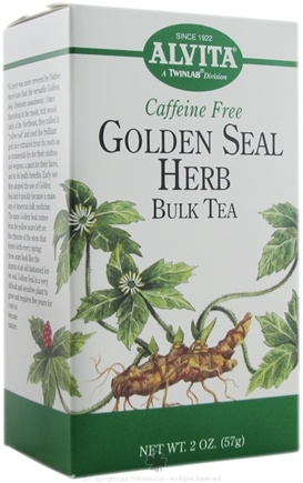 DROPPED: Alvita - Golden Seal Herb Bulk Caffeine Free - 2 oz.