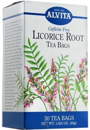 DROPPED: Alvita - Licorice Root Caffeine Free - 30 Tea Bags