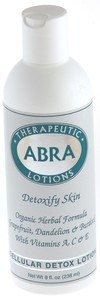 DROPPED: Abra Therapeutics - Herbal Aromatherapy Lotions Cellular Detox - 8 Oz.