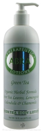 DROPPED: Abra Therapeutics - Herbal Aromatherapy Lotion Green Tea - 16 oz. CLEARANCE PRICED