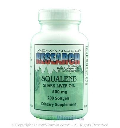 DROPPED: Advanced Research - Squalene Shark Liver Oil - 200 Softgels