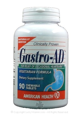 DROPPED: American Health - Gastro-AD - 90 Chewables