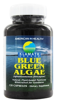 American Health - Klamath Shores Blue Green Algae - 120 Capsules