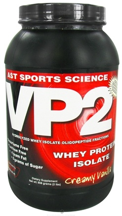 DROPPED: AST Sports Science - VP2 Whey Protein Isolate Vanilla - 2 Lbs. CLEARANCE PRICED