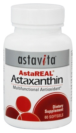 DROPPED: Astavita - AstaReal Astaxanthin Multifunctional Antioxidant 4 mg. - 60 Softgels