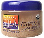 DROPPED: Aubrey Organics - Natural Spa Sea Wonders Invigorating Bath Salts Clearance Priced - 12 oz.