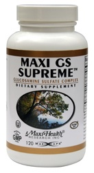 DROPPED: Maxi-Health Research Kosher Vitamins - Maxi GS Supreme No Sodium 500 mg. - 120 Tablets