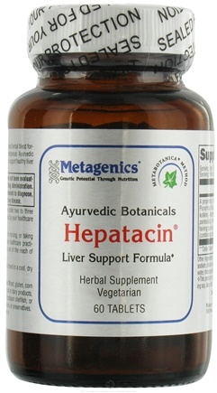 DROPPED: Metagenics - Hepatacin - 60 Tablets
