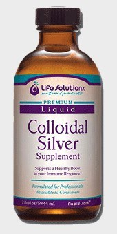 DROPPED: Life Solutions - Liquid Colloidal Silver Supplement - 2 oz.