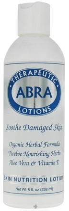 DROPPED: Abra Therapeutics - Herbal Aromatherapy Lotions Skin Nutrition - 8 Oz. CLEARANCE PRICED