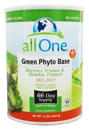 All One - Green Phyto Base - 2.2 lbs.