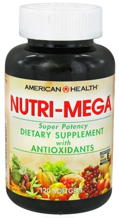 American Health - Nutri Mega Super Potency - 120 Softgels