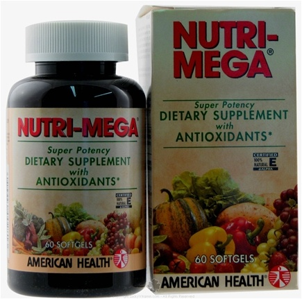 DROPPED: American Health - Nutri Mega - 60 Softgels