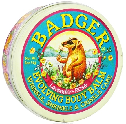 DROPPED: Badger - Evolving Body Balm Lavender-Rose - 2 oz. CLEARANCE PRICED