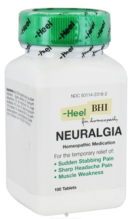 DROPPED: BHI/Heel - Neuralgia - 100 Tablets