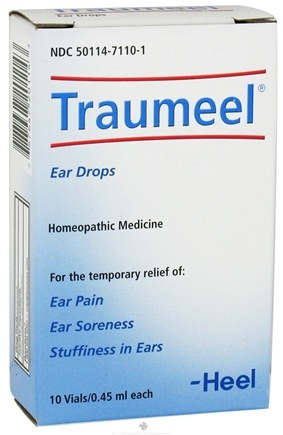 DROPPED: BHI/Heel - Traumeel Ear Drops - 10 Vial(s) Pure Ear