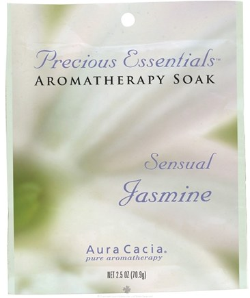 DROPPED: Aura Cacia - Precious Essentials Aromatherapy Soak Sensual Jasmine - 2.5 oz. CLEARANCE PRICED