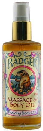 DROPPED: Badger - Massage & Body Oil Evolving Body Care - 4 oz. CLEARANCE PRICED