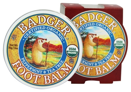 Badger - Foot Balm Peppermint & Tea Tree - 2 oz.