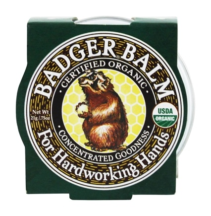 DROPPED: Badger - Healing Balm For Hardworking Hands - 0.75 oz.