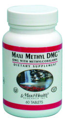DROPPED: Maxi-Health Research Kosher Vitamins - Maxi Methyl DMG - 60 Tablets
