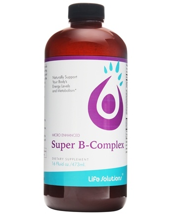 Life Solutions - Liquid Super B-Complex - 16 oz.