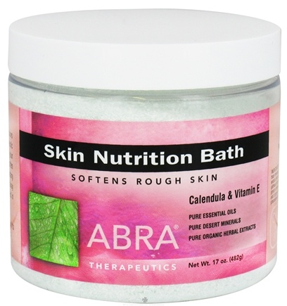 DROPPED: Abra Therapeutics - Skin Nutrition Bath Calendula & Vitamin E - 17 oz. CLEARANCE PRICED