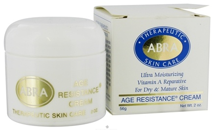DROPPED: Abra Therapeutics - Therapeutic Skin Care Age Resistance Cream - 2 oz. CLEARANCE PRICED