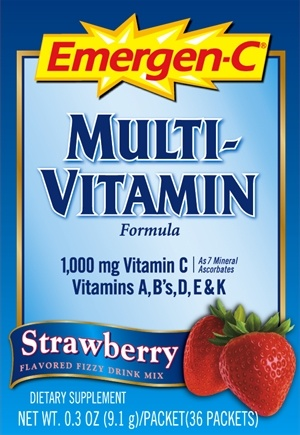 DROPPED: Alacer - Emergen-C 4 Adults Strawberry - 36 Packet(s)